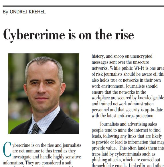 Cybercrime is on the rise