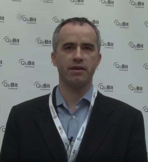 Ondrej Krehel, LIFARS' CEO, at QuBit Conference Prague 2017