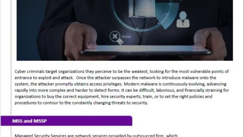 Cyber Security Needs to Be Proactive Rather Than Reactive