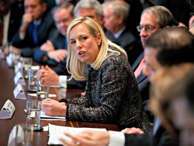 Kirstjen Nielsen from Department of Homeland Security