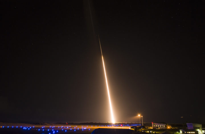 MDA Missile Launch