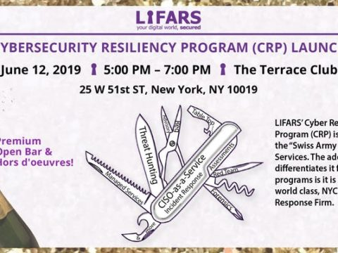 LIFARS Cybersecurity Resiliency Program (CRP) Launch Party