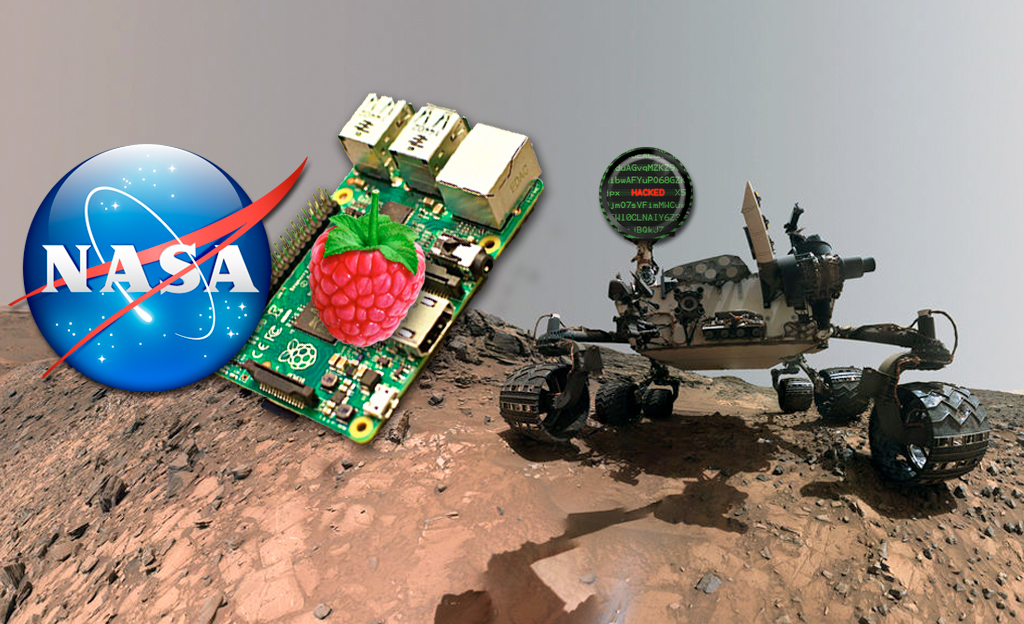 NASA hacked because of unauthorized Raspberry Pi connected to its network.