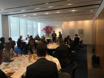 On October 22, 2019 LIFARS, LLC hosted a privileged breakfast event alongside with the U.S. Secret Service