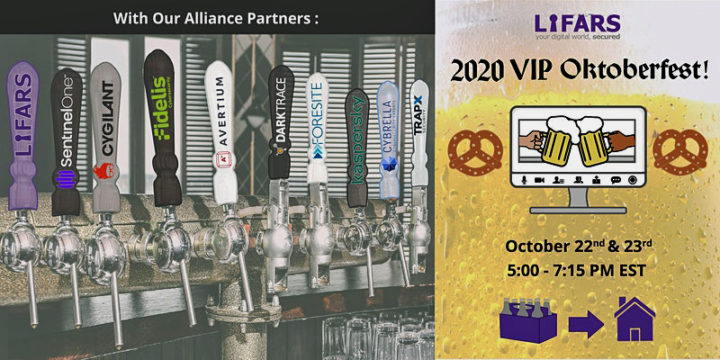 LIFARS invites you to its first ever virtual VIP Party the 2020 LIFARS VIP Oktoberfest